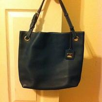 Dooney & Bourke Teal Hobo Tote Photo