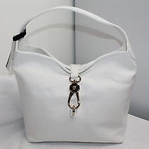 Dooney & Bourke White Leather Hobo Wacc Photo