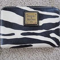 Dooney & Bourke Zebra Wallet  Coin Purse and Card Holder Rare Style . Photo