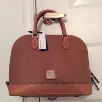 Dooney & Bourke Zip Zip Caramel Satchel Photo