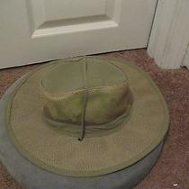 Dorfman Pacific Men's Mesh Fossil Safari Hat Size L  Photo