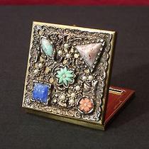 Dorset Rex Unique & Rare Vintage Compact Pagan Design Elements Needs Mirror  Photo