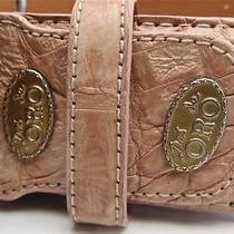 Dos De Oro Genuine Crocodile Leather Horn Back Alligator Croc Belt 36 Photo