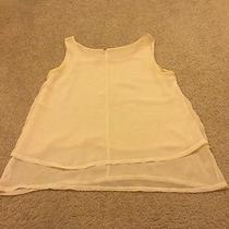 Double Layered Semi See-Through Forever 21 Beige Tank Photo