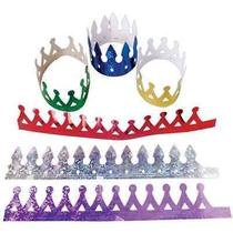 Dozen Prism Metallic Crowns Photo