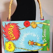 Dr. Seuss the Lorax Book Purse Handbag Pocketbook One of a Kind by Gmajanisew Photo