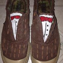 Dr Who Tennis Shoes 11th Doctor Matt Smith Bowtie Women's Size 8.5 Tardis Photo