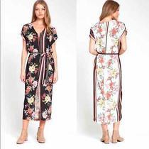 Dra Anthro Camilla Sleeveless Floral Dress Size M Photo