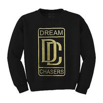 Dream Chasers Gold - Meek Mill Hip-Hop Rap Dope Crewneck Sweatshirt Trill Philly Photo