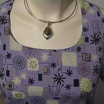 Dress 8/10 Sheath Shift Style Mod Geometric Purple Lilac Short Sleeve Photo
