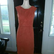Dress Karin Stevens Suede Fabric Vintage 60s Inspired Dress 12 Photo