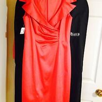 Dress Kay Unger Size 10 Red Never Worn Photo