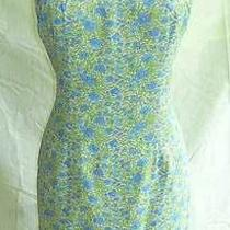 Dress Nanette Lepore Slip Grunge Nos Granny Floral Print Sexy Lingerie Pastel   Photo