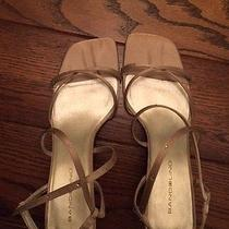 Dress Shoes/ Gold/ With Straps/ Size 7.5/gold Photo