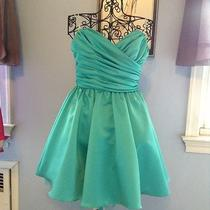 Dress Teal Blue Size 6 Abs Dress  Photo