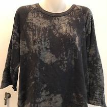 Dries Van Noten - Black Distressed Sweatshirt - Size M Photo