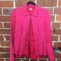 Dries Van Noten Hook and Eye Double Shirt Jacket Pure Silk Photo