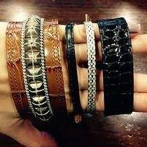 Dries Van Noten Leather Bracelets  Photo