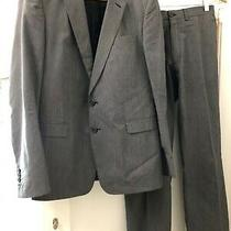 Dries Van Noten Mens Suit Sz 40 Silk and Cotton Surgeon Cuffs Photo
