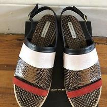 Dries Van Noten Sandals Mules Python Leather Suede Stripe Totokaelo Lagarconne Photo
