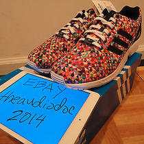 Ds 2014 Adidas Originals Zx Flux Prism Sz 11 Multicolor D-Rose Boost Photo