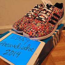 Ds 2014 Adidas Originals Zx Flux Prism Sz 11 Multicolor D-Rose Boost Photo