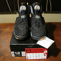 Ds Air Jordan 8 Viii Suns  Sz 12 W/receipt  Aqua Playoffs Chrome Bugs Bunny Photo