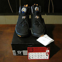 Ds Air Jordan 8 Viii Suns  Sz 9.5 W/receipt  Aqua Playoffs Chrome Bugs Bunny Photo