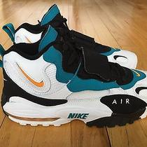 Ds Nike Air Max Speed Turf Miami Dolphins Dan Marino Rare Size 8.5 525225 100 Og Photo