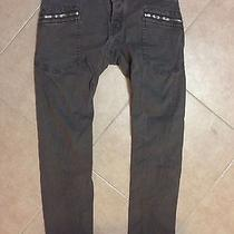 Dsquared 100%Authentic Bike Style Kenny Twist Grey Jeans Size46 Photo