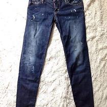Dsquared 2 Paint Stain Skinny Jeans Men 42 Cool Guy Photo