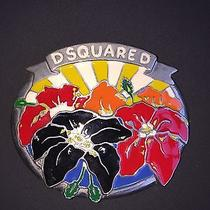 Dsquared Belt Buckle - Very Rare Photo