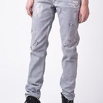 Dsquared  Distressed Painted Denim Jeans It 44 / Us 8 / Eur 38 Photo
