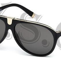 Dsquared Dq0069 Sunglasses Dq 69 Authentic Aviator Glasses Retro 02a Black New Photo