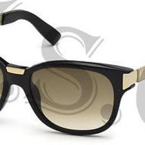 Dsquared Dq0131 Sunglasses Dq 131 Authentic Glasses Retro 01p Black New Photo