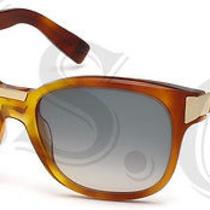 Dsquared Dq0131 Sunglasses Dq 131 Authentic Glasses Retro 53b Havana New Photo