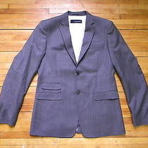 Dsquared Hand Made Stripe Grey Dress Blazer Jacket 52 Photo