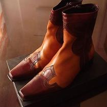 Dsquared Luxurious Fine Leather Boots  Photo