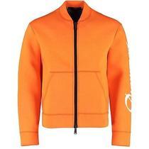 Dsquared Orange Neoprene Bomber Jacket  Top Szm Photo