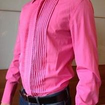 Dsquared Tuxedo Pink Shirt 48 Collectors Item Photo