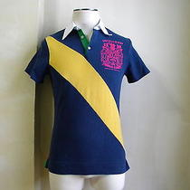 Dsquared Very Rare Stripe Multicolor Blue Lord Rugby Team Polo T Shirt S L Photo