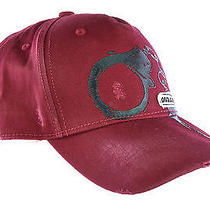 Dsquared2 Adjustable Men's Cotton Hat Baseball Cap New Bordeaux  281 Photo