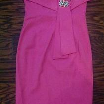 Dsquared2 Amazingly Sexy Dress Killing Back It40 Pink W/gift 780 Dannijo Brooch Photo