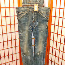 Dsquared2 Big Chief Oil Oiled Overalls Kenny Twist Jeans Pants New 30 32 48 46 Photo