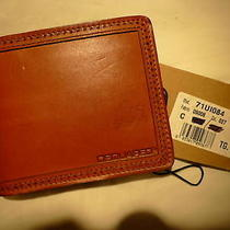 Dsquared2 Bnwt Ligth Brown Leather Wallet Authentic Italy Photo