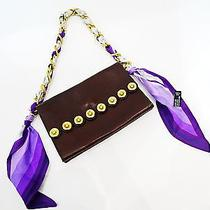 Dsquared2 Clutch in Brown Leather Photo