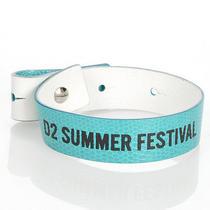Dsquared2 D2 New Unisex Turquoise Genuine Leather Bracelet Armlet Wristband Sale Photo