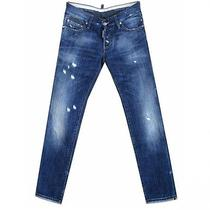 Dsquared2 / Damaged Denim With Plate Size 46 From Japan Photo