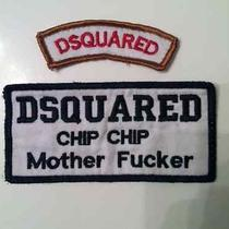 Dsquared2 Designer Patches Photo