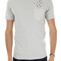 Dsquared2 Dsquared Men New Grey Cotton T-Shirt Applications Made Ini Taly Photo